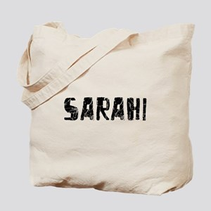 Sarahi Faded (Black) Tote Bag